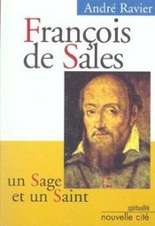 Francois De Sales Un Sage Et Un Saint - Intérieur - Format classique