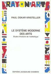 Le systeme moderne des beaux arts - Intérieur - Format classique