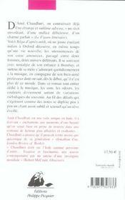 Raga D'Apres-Midi - 4ème de couverture - Format classique