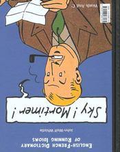 Dictionnaire franco-anglais des expressions courantes t.1 ; ciel Blake, sky Mortimer - 4ème de couverture - Format classique