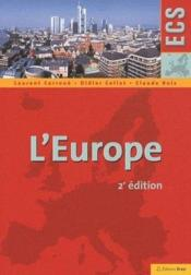 Vente livre :  L'Europe (2e édition)  - Laurent Carroue - Didier Collet - Claude Ruiz