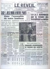 Reveil (Le) N°125 du 25/10/1947 - Couverture - Format classique