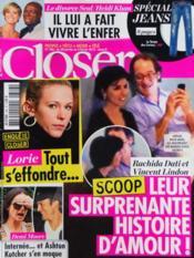 Closer N°346 du 28/01/2012 - Couverture - Format classique