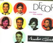 Catalogue Nouvelles Galeries. Decor, Votre Foyer, Votre Mobilier. - Couverture - Format classique
