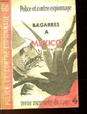 Bagarres A Mexico - Couverture - Format classique