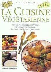 Cuisine Vegetarienne (La) - Intérieur - Format classique