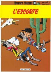 Lucky Luke t.28 ; l'escorte - Intérieur - Format classique