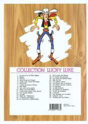 Lucky Luke t.28 ; l'escorte - 4ème de couverture - Format classique