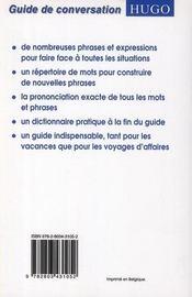 Parler Et Comprendre L'Anglais - 4ème de couverture - Format classique