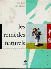 Les remèdes naturels - Couverture - Format classique