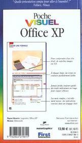 Poche Visuel Office Xp - 4ème de couverture - Format classique
