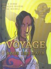 Voyage sous les eaux t.2 ; l'ile mysterieuse - Couverture - Format classique