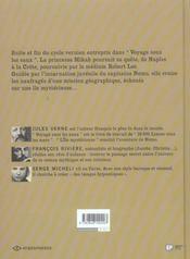 Voyage sous les eaux t.2 ; l'ile mysterieuse - 4ème de couverture - Format classique
