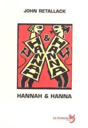 Hannah et Hanna - Couverture - Format classique
