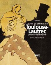Toutes Les Affiches De Toulouse-Lautrec Au Musee D'Ixelles - Intérieur - Format classique