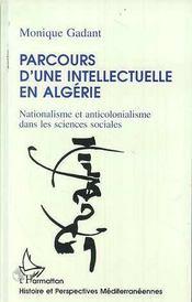 Parcours D'Une Intellectuelle En Algerie - Intérieur - Format classique