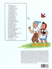 Sylvain et Sylvette t.17 ; sauve qui peut - 4ème de couverture - Format classique