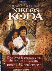 Niklos Koda ; intégrale t.1 et t.2 - Intérieur - Format classique