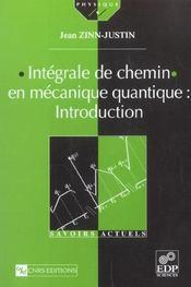 Integrale De Chemin En Mecanique Quantique - Intérieur - Format classique
