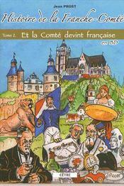 Histoire de la Franche-Comté t.2 - Couverture - Format classique