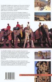 Inde, Le Meilleur Choix Pour Les Voyageurs - 4ème de couverture - Format classique
