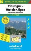 Vinschgau-Otztaler Alpen - Couverture - Format classique