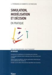Simulation, modélisation et décision en pratique - Couverture - Format classique