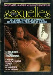 Unions Sexuelles N°11 - Un Guide Precieux De L'Amour/ Les Adresses En Province Et A Paris - La Vrai Vie D'Un Transsexuel. - Couverture - Format classique