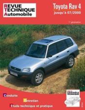 Rta 597.1 Toyota Rav 4 Essence - Couverture - Format classique