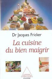 La Cuisine Du Bien Maigrir - Intérieur - Format classique