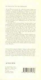 L'Anneau De La Cle - 4ème de couverture - Format classique