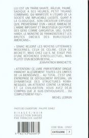 Luj Inferman'Et La Cloducque - 4ème de couverture - Format classique