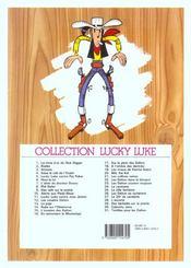 Lucky Luke t.8 ; Phil Defer - 4ème de couverture - Format classique