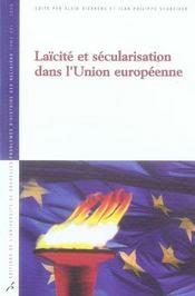 Laïcité et sécularisation dans l'union européenne - Intérieur - Format classique