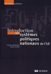 Introduction aux systèmes politiques nationaux de l'UE - Intérieur - Format classique