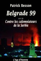 Belgrade 99 - Couverture - Format classique