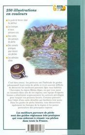 Les Meilleurs Parcours De Peche Auvergne ; Rhone-Alpes - 4ème de couverture - Format classique