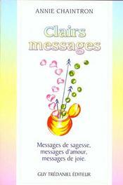 Clairs Messages - Intérieur - Format classique