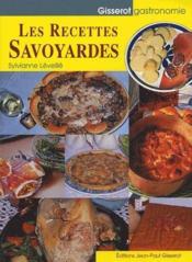 Les recettes savoyardes - Couverture - Format classique