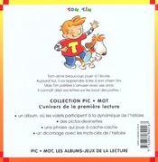 La lecon de lecture - 4ème de couverture - Format classique