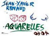 Jean-Xavier Renaud - Aquarelles - Intérieur - Format classique