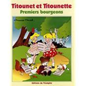 Titounet et titounette ; premiers bourgeons - Couverture - Format classique