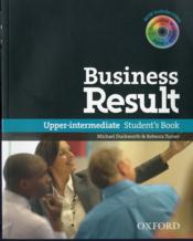 Business result upper-intermediate: student's book & dvd-rom pack - Couverture - Format classique