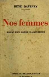 Nos Femmes. - Couverture - Format classique