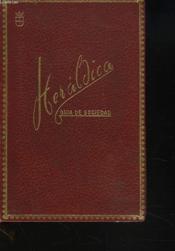 Heraldica Guia De Sociedad. Edicion 1966. - Couverture - Format classique