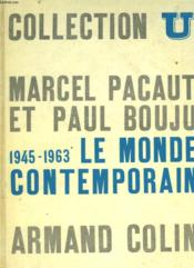 Le Monde Contemporain 1945-1963 - Couverture - Format classique