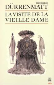 La Visite De La Vieille Dame - Couverture - Format classique