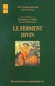 Le ferment divin - Couverture - Format classique