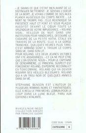 Un Meurtre De Corbeaux - 4ème de couverture - Format classique