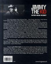 Jimmy the kid ; James Dean secret - 4ème de couverture - Format classique